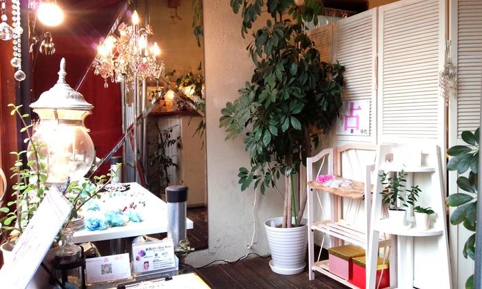 新潟の占い館【Blue Rose -青いバラの花言葉-】で対面鑑定を行っているベテラン占い師…薔 ゆたさん