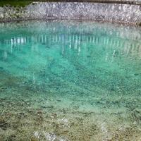 コバルトブルーの池が圧巻!山口にあるパワースポット…別府弁天池