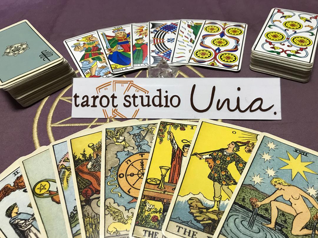 tarot studio Unia.(タロットスタジオ ユーニア) 松下真生(まつした まお)先生